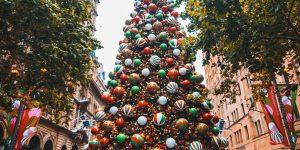 Ziemassvētku egle Sidnejā, Mārtina laukumā