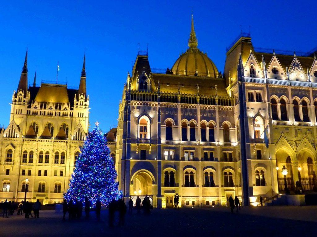 Svētku egle Budapeštā